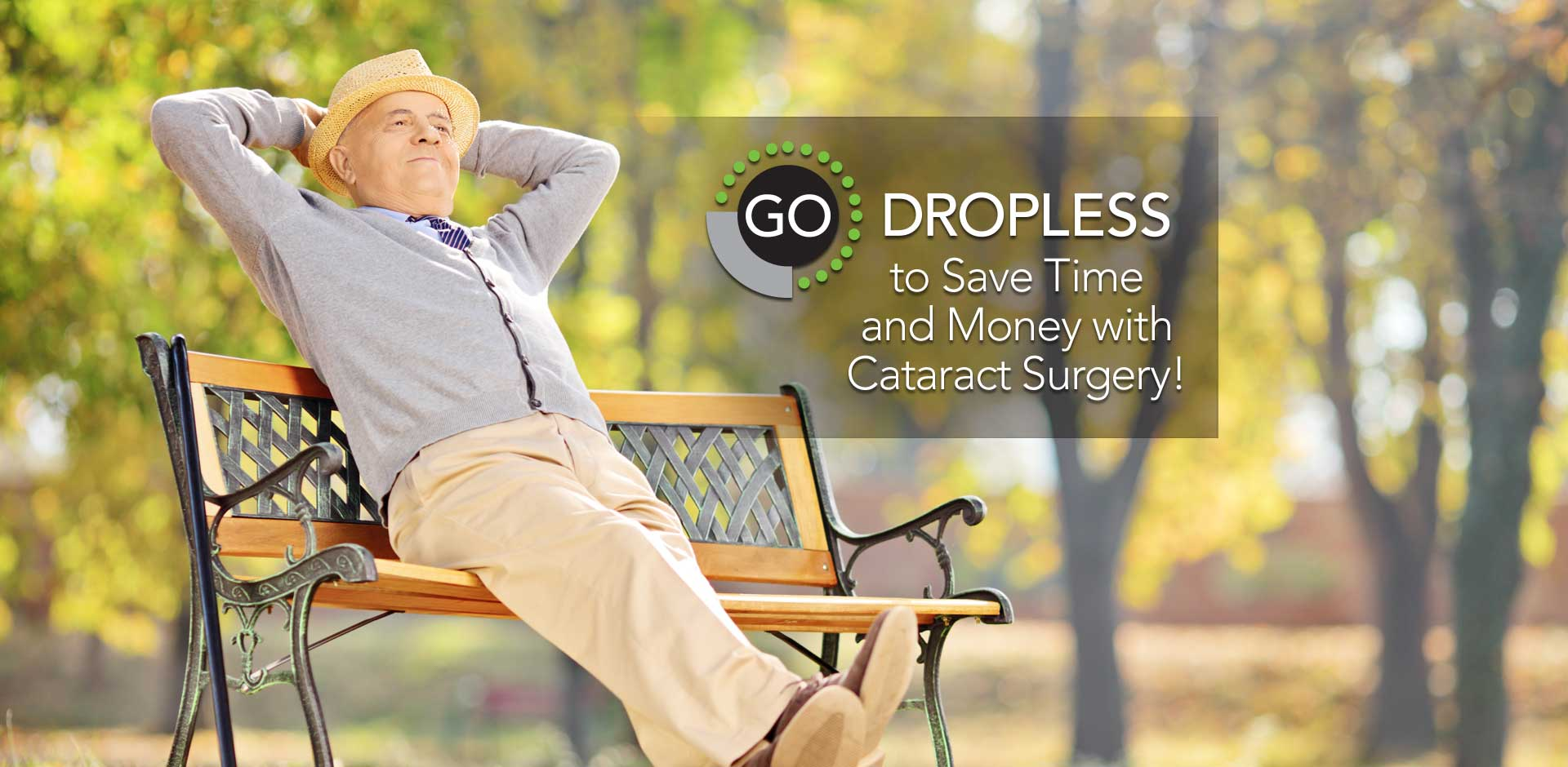 Dropless to Save Time and Money with Cataract Surgery
