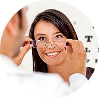 Optical & Contact Lens Center Icon
