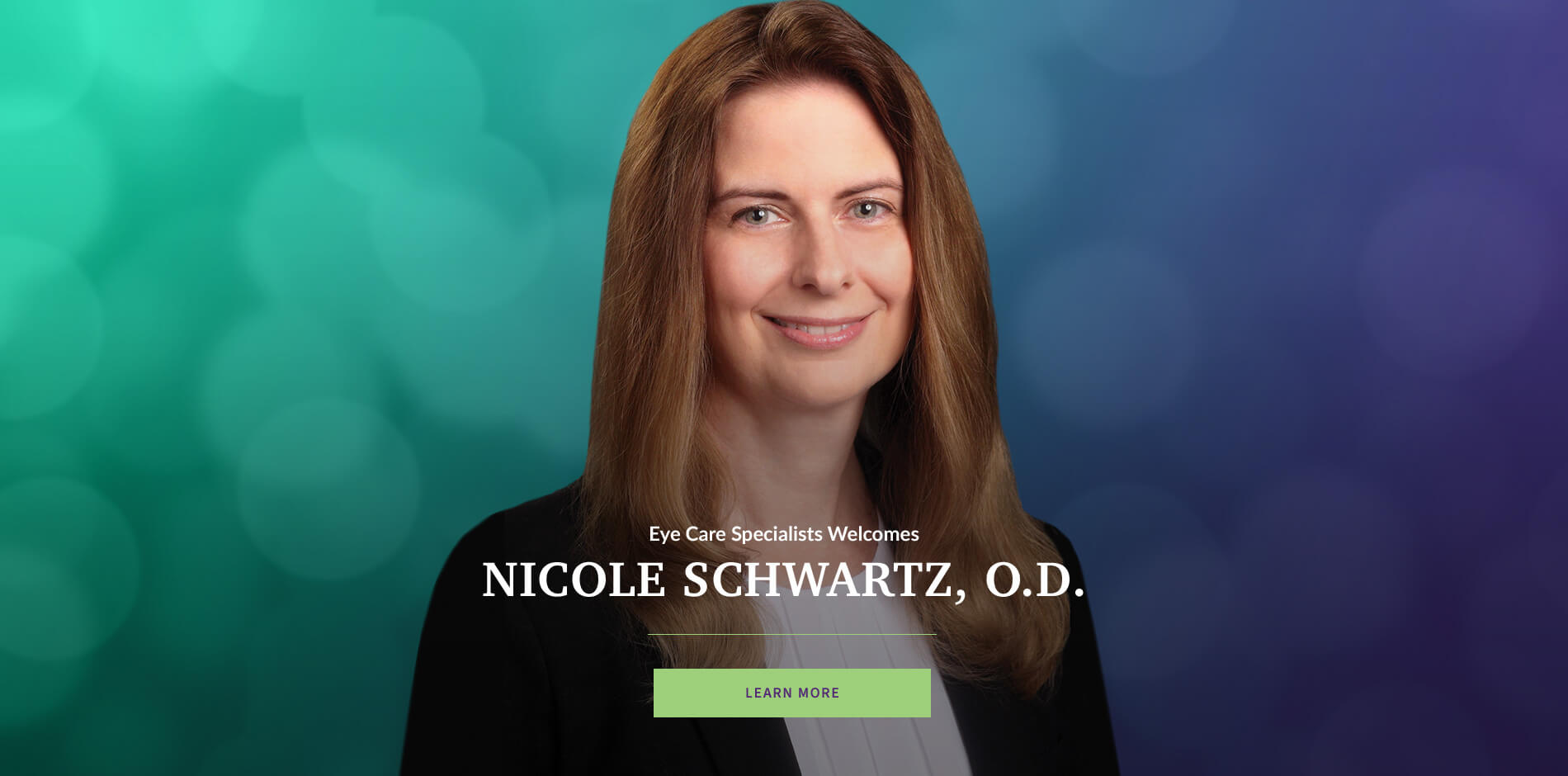 Eye Care Specialists Welcomes Nicole Schwartz, O.D.