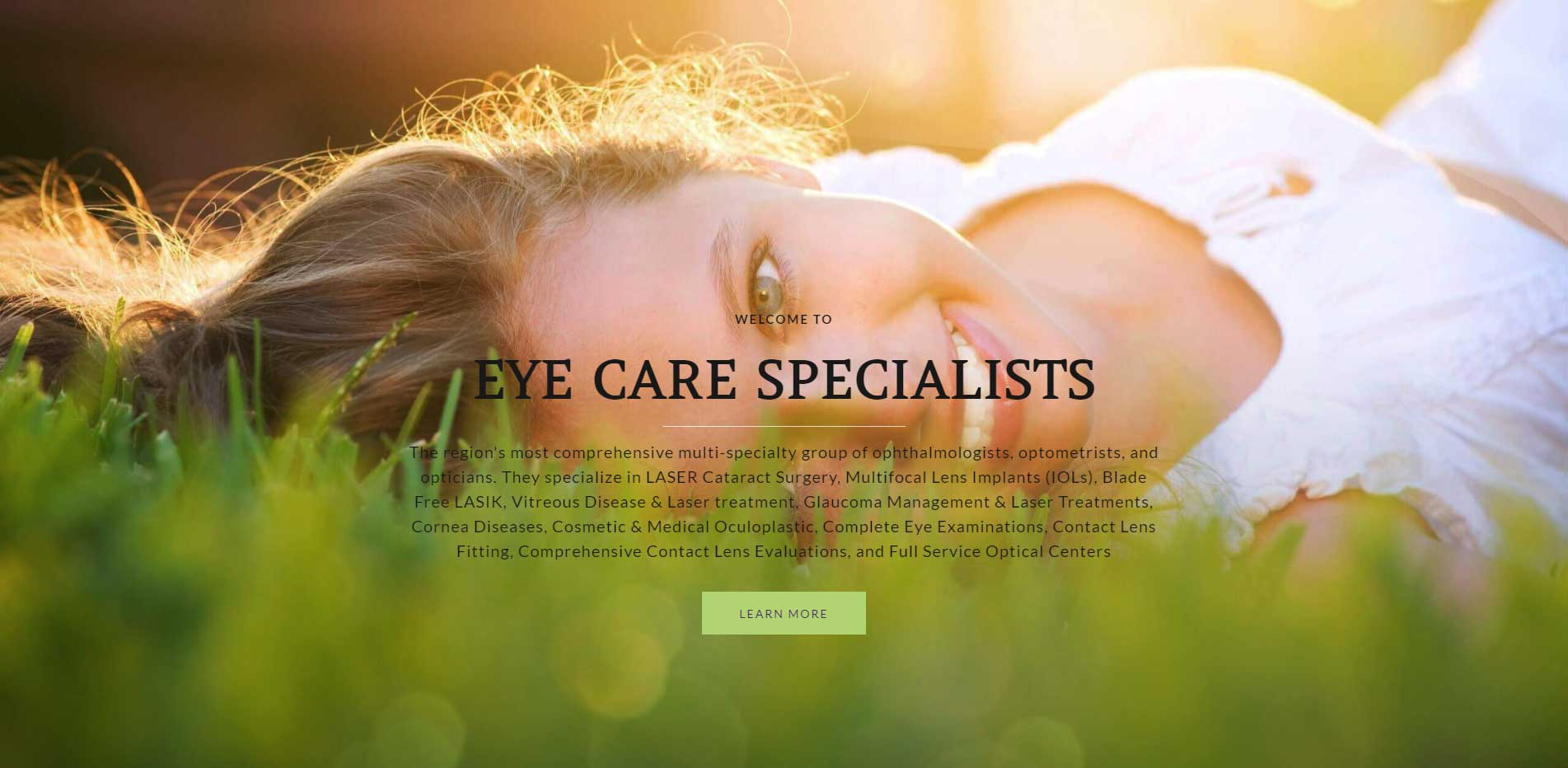 Welcome to The Eye Care Specialists