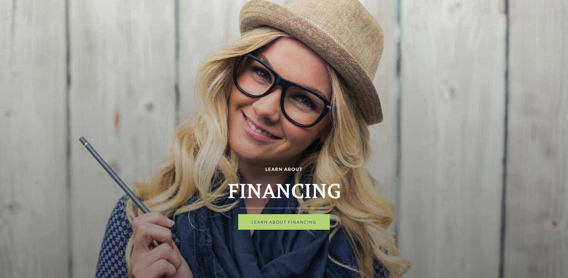 Learn about Financing