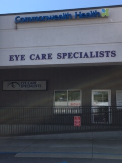 Eye Care Specialists Nanticoke Office