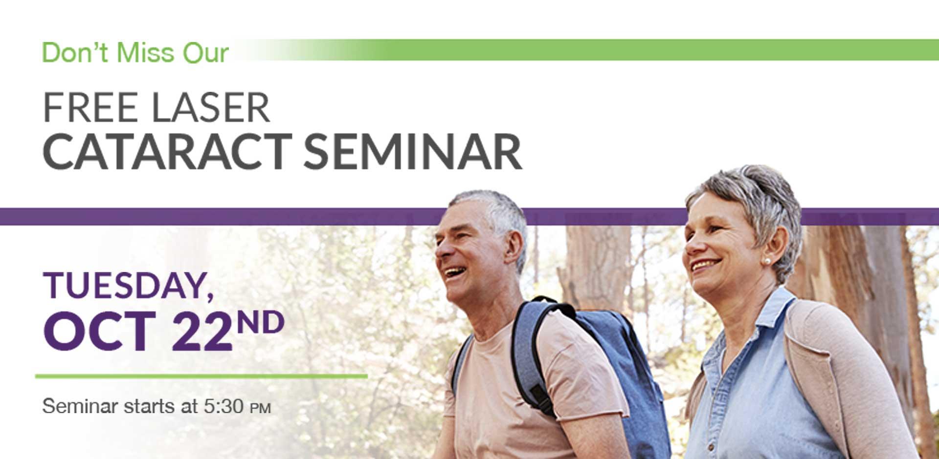 Free Cataract Seminar