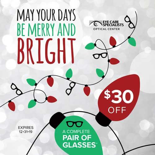 Back to School Eyeglasses Savings Promotion